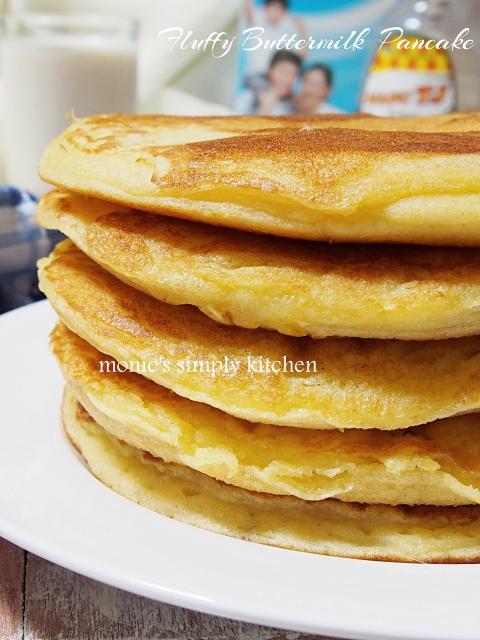 resep buttermilk pancake mudah