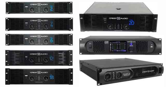 Harga Power Amplifier Crest Audio