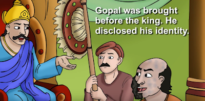 storys for kids of the challenge of king and gopal