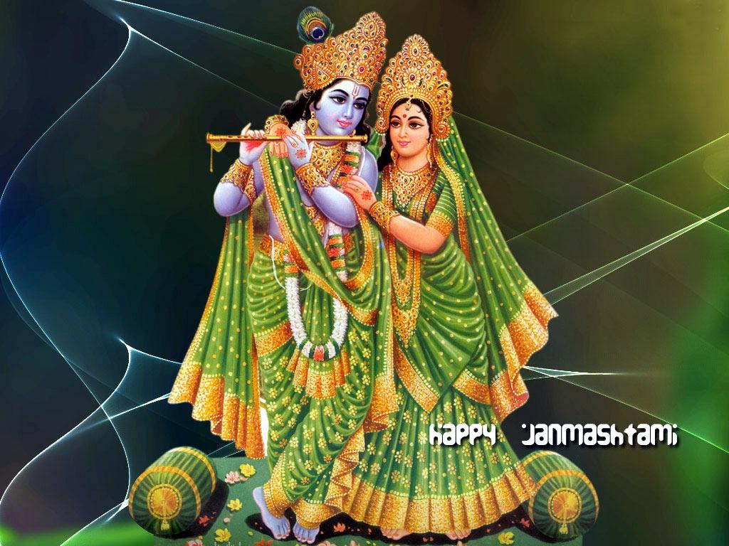 Krishna flute wallpaper
