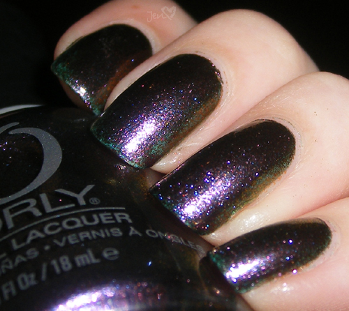 xoxoJen's swatch of Orly Space Cadet