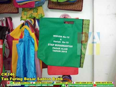 jual Tas Furing Besar Sablon Batik