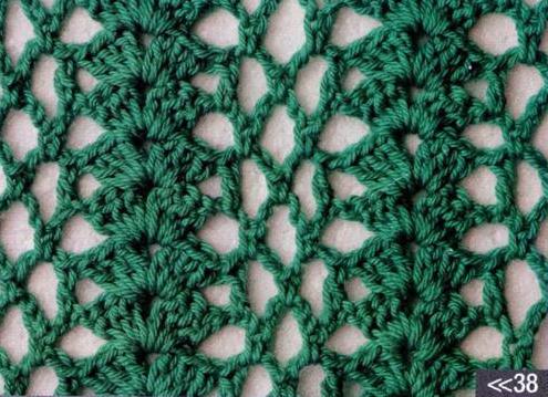 Patron #1196: Punto Calado a Crochet