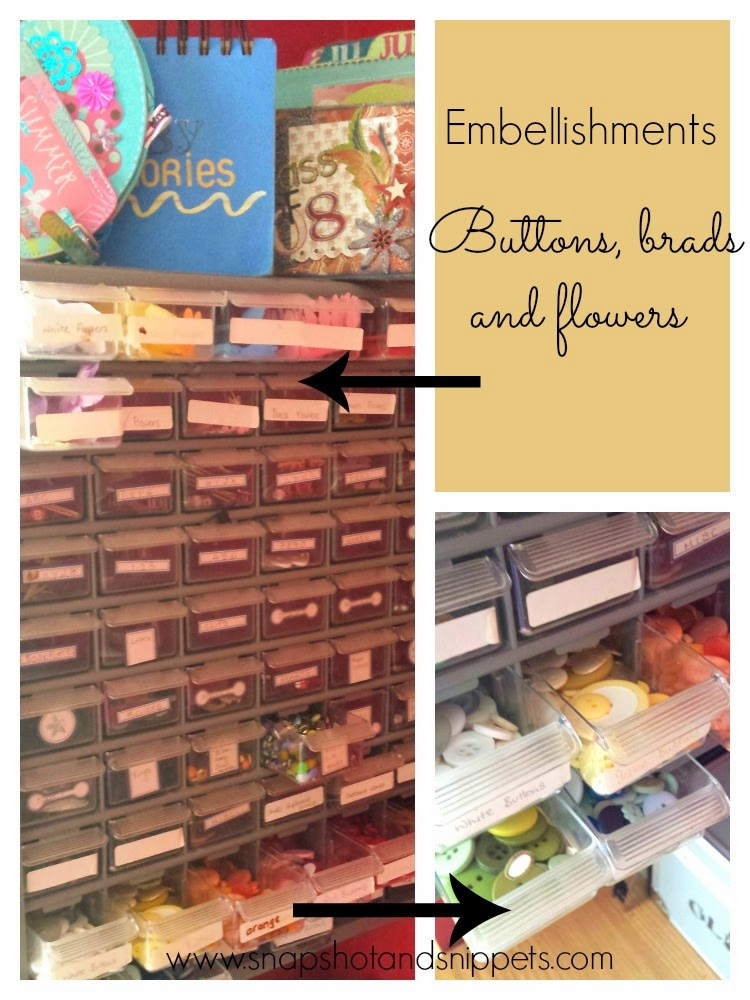 Craft Room Organisation Ideas For A Small Space Snapshots And Snippets