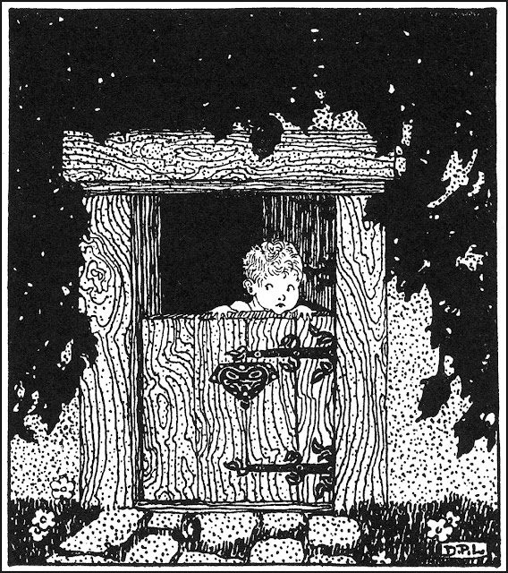 Dorothy Lathrop child look out door