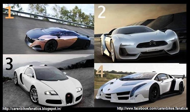 Car Bike Fanatics Peugeot Onyx Citroen Gt Bugatti Veyron