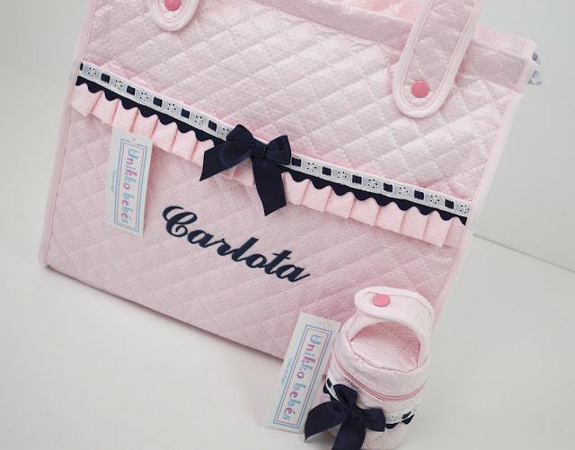 bolsa capazo peg perego rosa marino