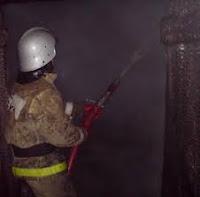 (ФОТО)Халатность и несоблюдения требований ППБ  привела к пожару