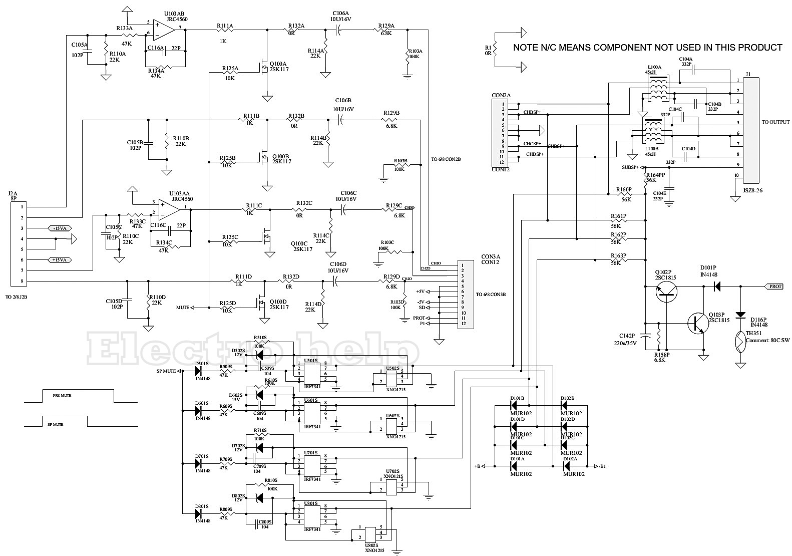 Infinity Reference Crossover Schematic Custom Wiring Diagram Kappa 5 Disassembly Troubleshooting Circuit Rh Electronicshelponline Blogspot Com Tweeter Diagrams Diy Audio