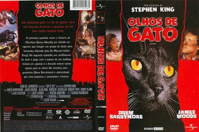 Filme Olhos de Gato (Cat's Eye) DVD Capa