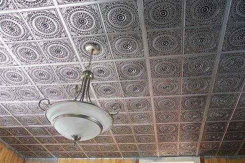 Antique Silver Tiles