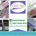 Rumah Naina Label Bordir Woven dan Label Satin Taffeta Printing