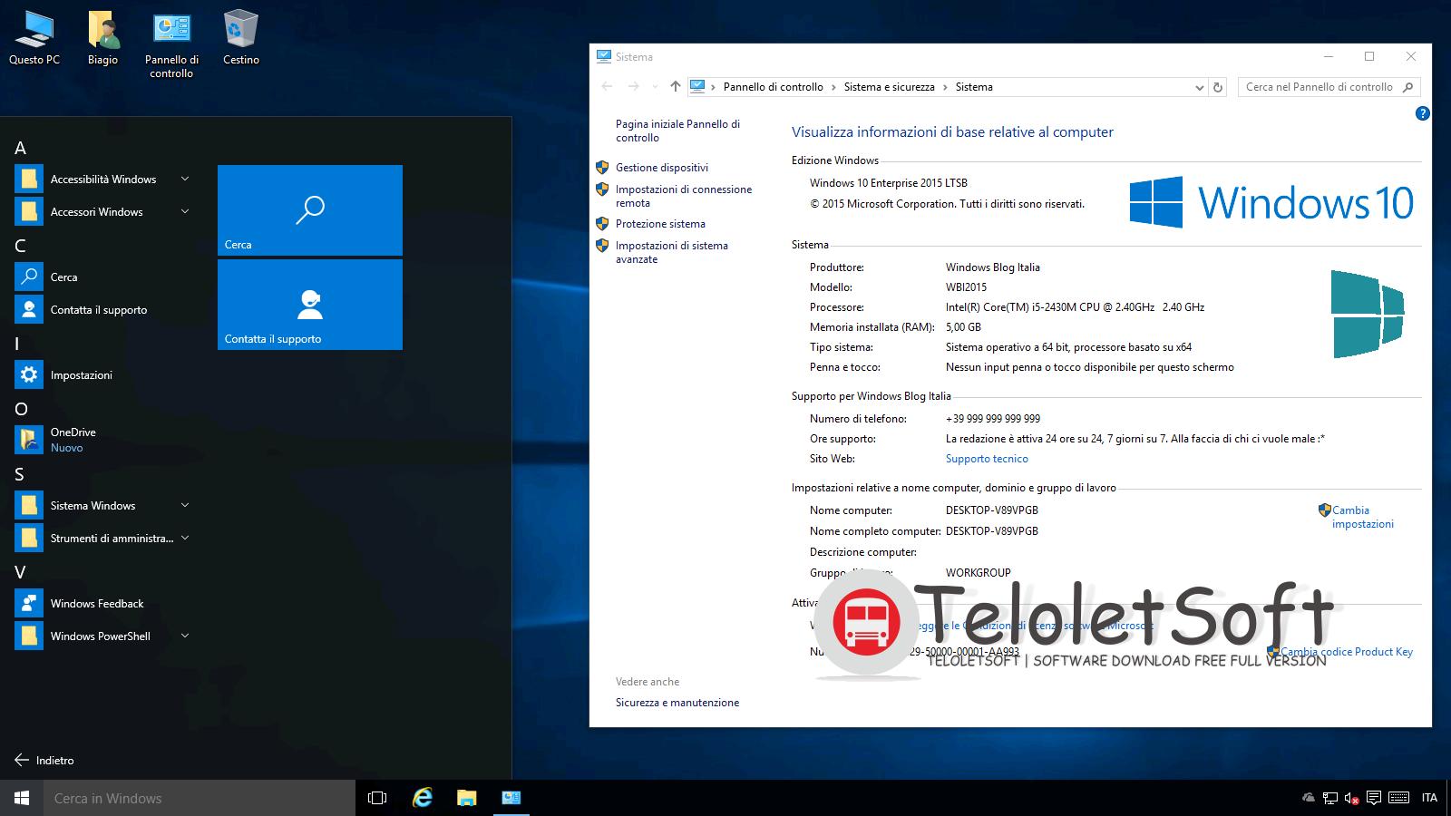 Windows 10 Enterprise 64 Bit Full Version Single Link ...
