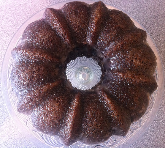 Sticky Gingerbread Bundt