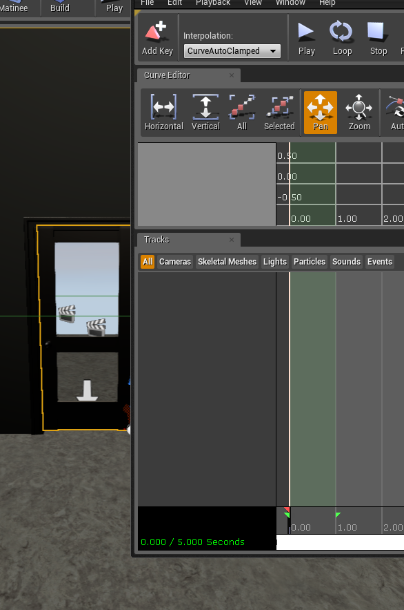 Create an automatic door in ue4 onlinedesignteacher i have moved the matinee editor to the right of the screen in order to select the door malvernweather Gallery