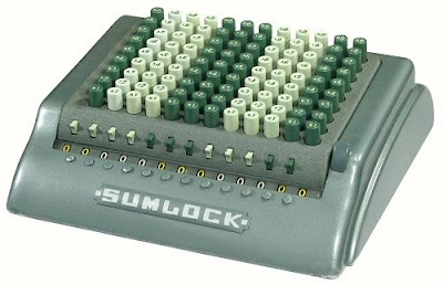 Sumlock Comptometer