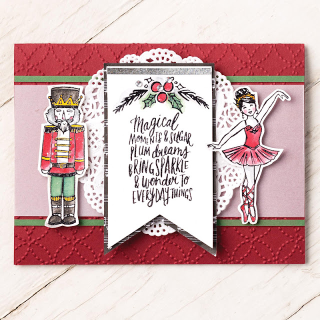 Sugarplum Dreams - Make beautiful Christmas cards with this super cute stamp set. Available here while stocks last - http://www3.stampinup.com/ECWeb/ProductDetails.aspx?productID=144908&dbwsdemoid=4008228