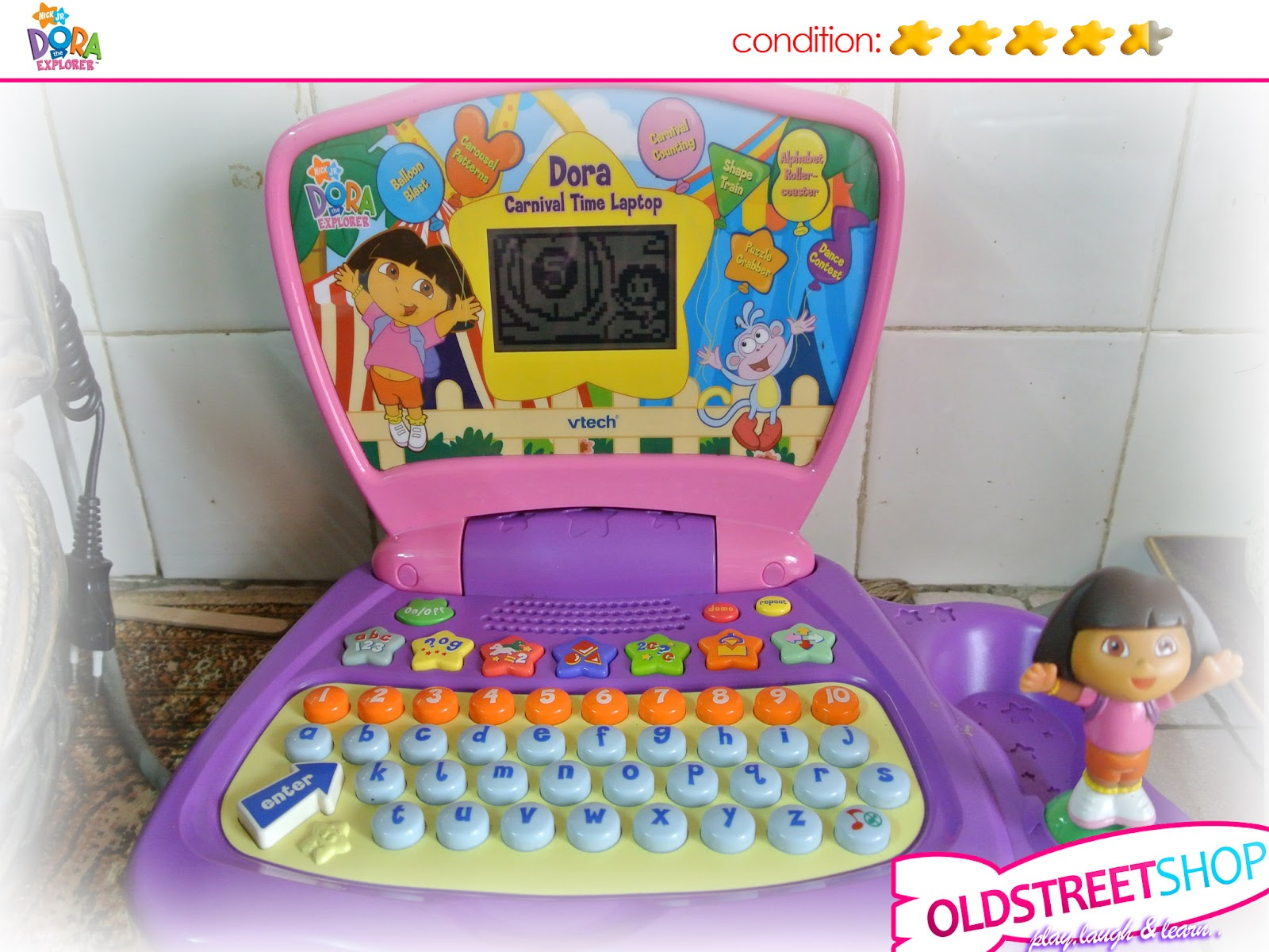 Oldstreetshop Vtech Dora The Explorer Carnival Time