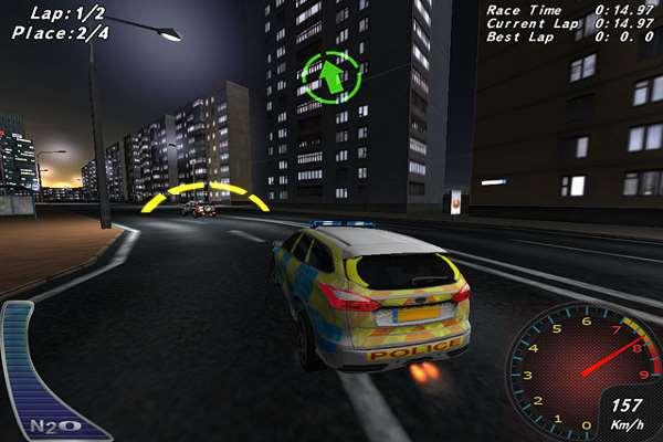 تحميل لعبة سباق سيارات الشرطة للاندرويد