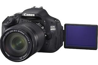canon eos 600d dslr kamera