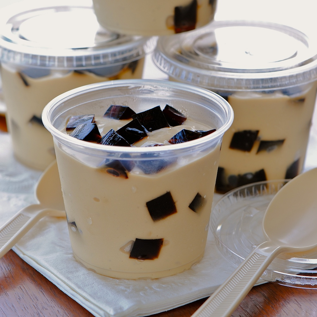 JULES FOOD Espresso Pudding Coffee Jelly Surprise