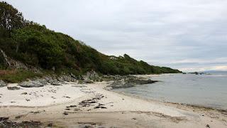 A hidden gem - a white sandy beach on Islay