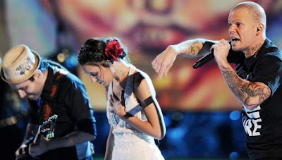 Foto de Calle 13 en el escenario