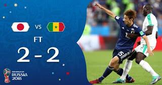 Jepang Vs Senegal 2-2 Highlights