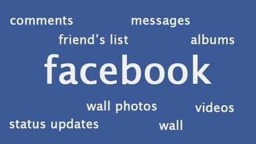 تنزيل نسخه من جميع بياناتك من الفيس بوك