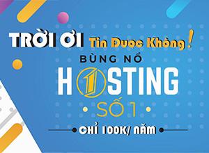 yaviet hosting khuyen mai 100k/năm