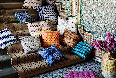 Cojines, alfombra son los mejores representantes del E. Tierra
