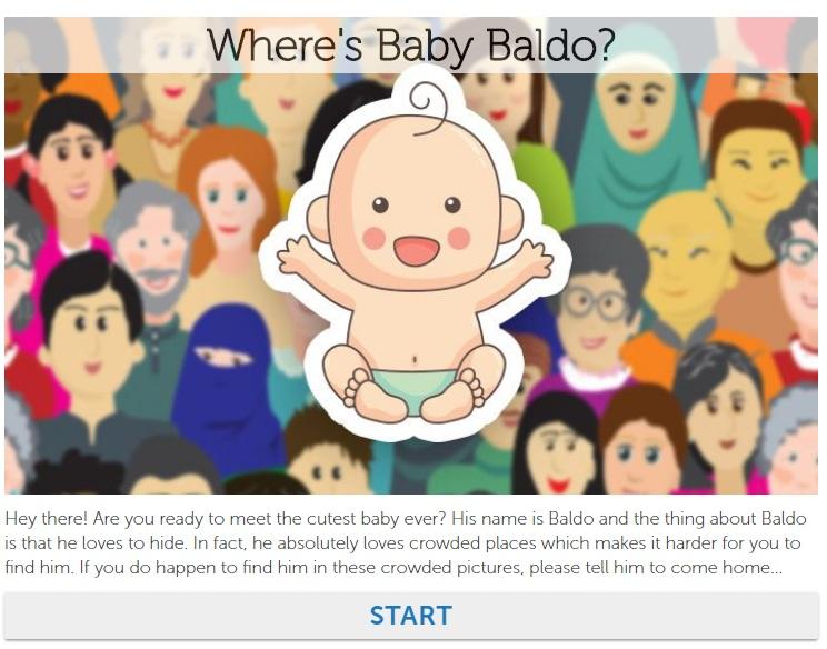 Where's Baby Baldo Quiz Answers