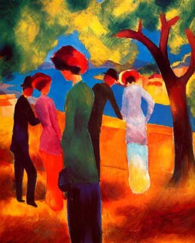 Resultado de imagen para august macke pinturas