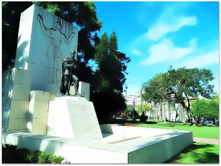 Monumento a Don Pedro de Mendoza, Parque Lezama, Buenos Aires