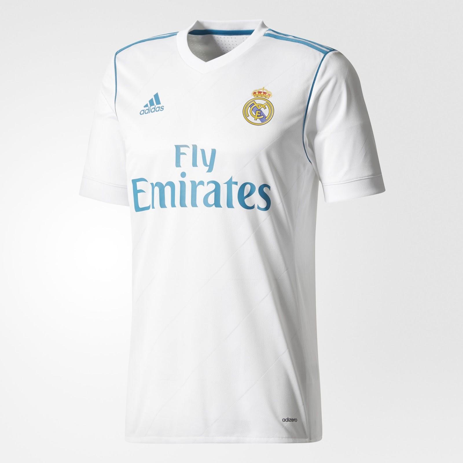 f09da5d2f Spodenki oraz getry także są w kolorze białym. Nowe stroje są już dostępne  do kupienia w sklepach Adidasa oraz Realu Madryt.