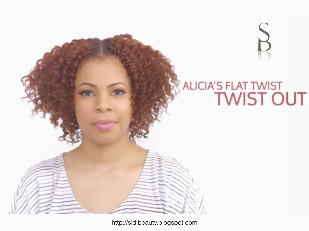 ORS Flat twist out- Sidi Beauty