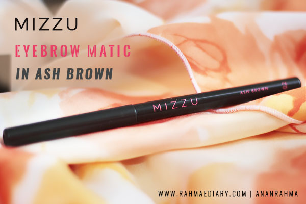Mizzu Eyebrow Matic in Ash Brown