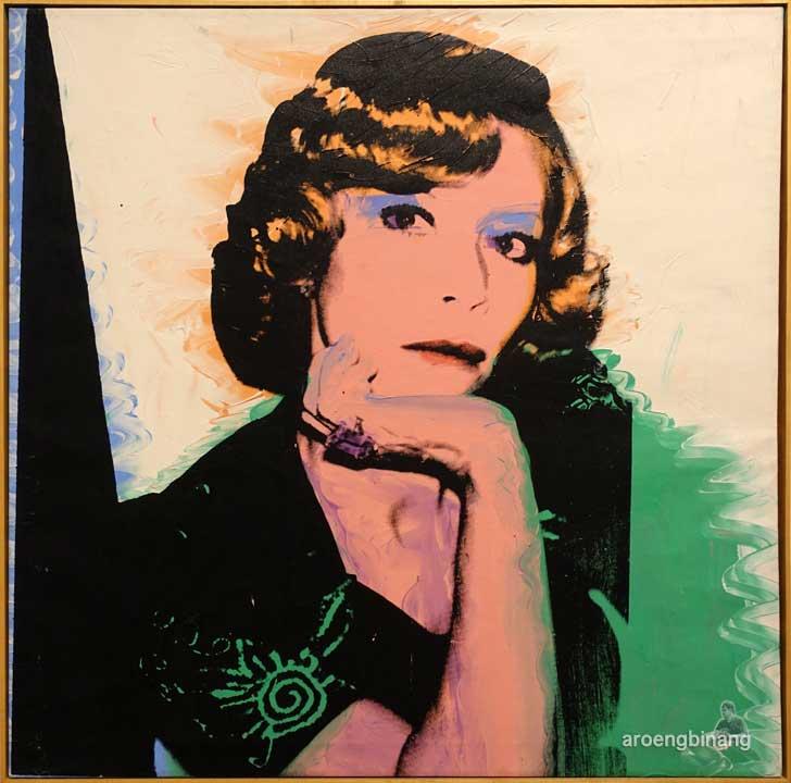 andy warhol portrait of madame smith