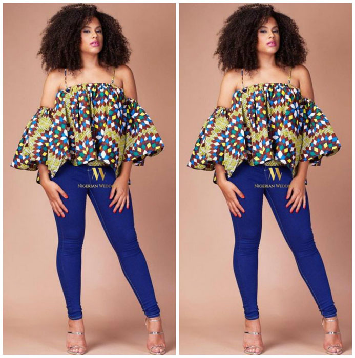 New Ankara Styles Siks Nd Tops: 65 Pictures Of The Latest Ankara Tops Styles In 2018