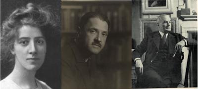 Marie Stopes, W. Somerset Maugham, Edward Marsh