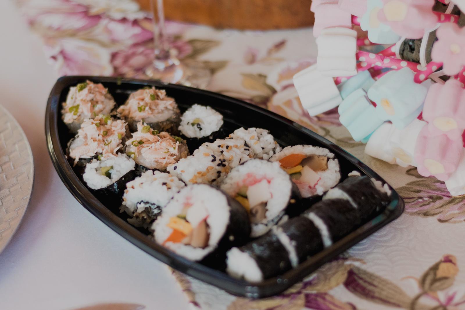 barco de sushi casamento