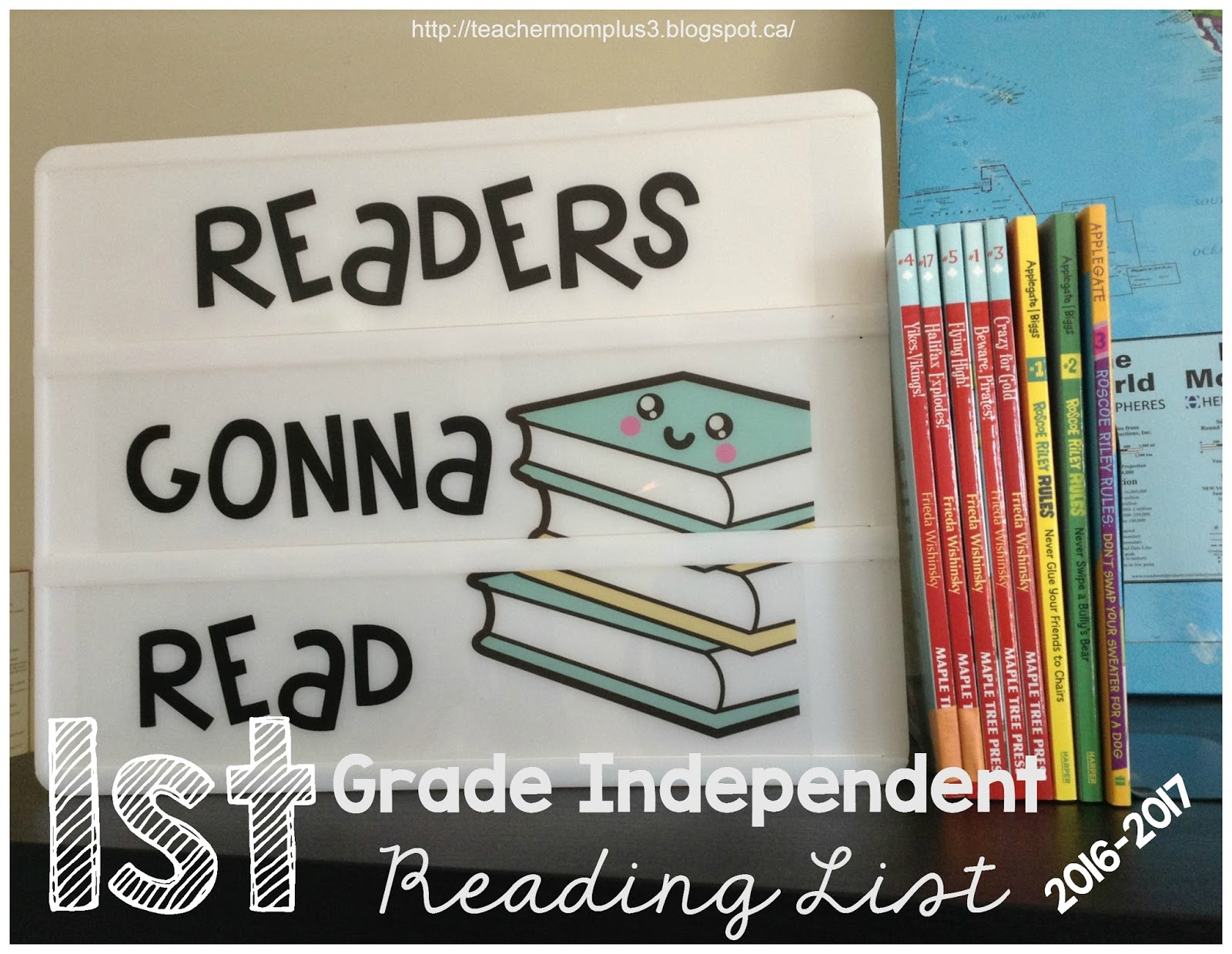 Teachermomplus3 1st Grade Independent Reading List