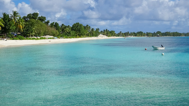 Tuvalu has wonderful beaches