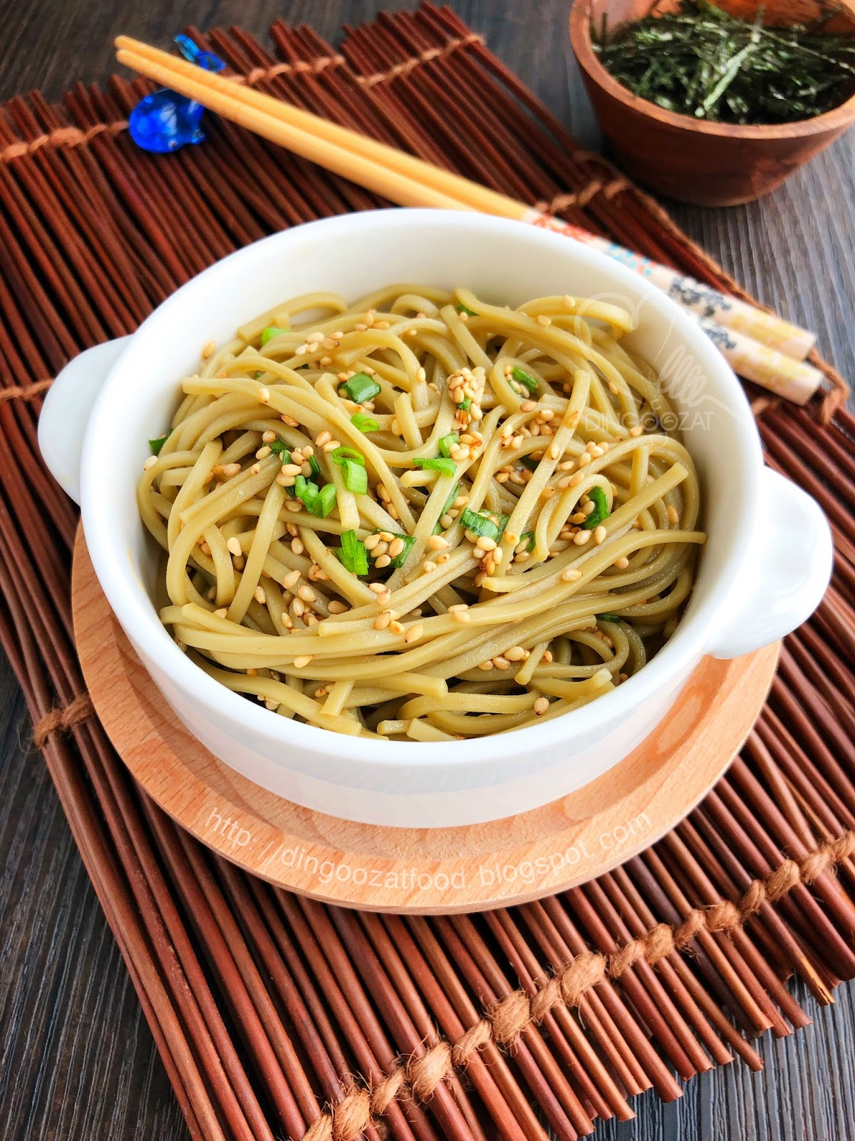 Miki\u0027s Food Archives : Cold Soba With Homemade Honey Soy Sesame ...