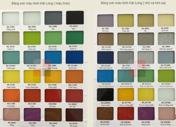 Bảng báo giá kinh sơn hải long trọn gói theo m2 mới nhất tại hà nội