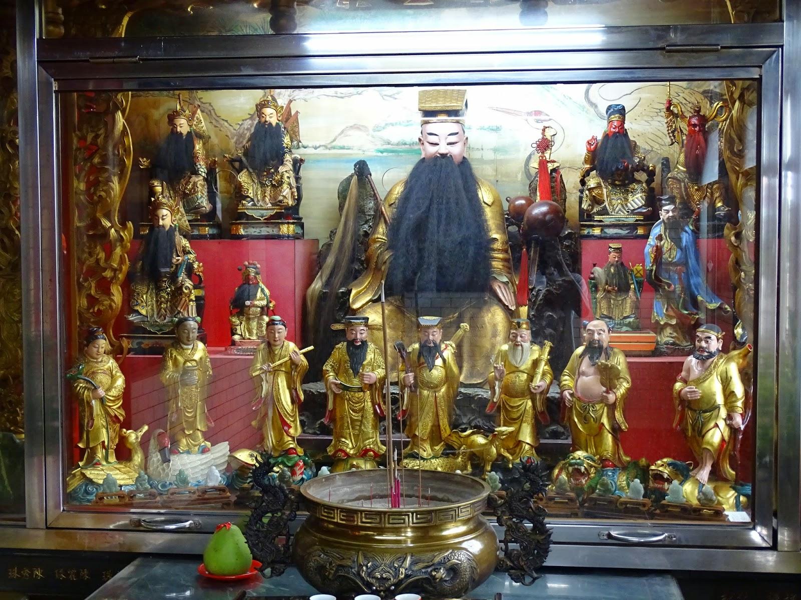 教書生涯雜記 : 覺修宮純陽殿八仙