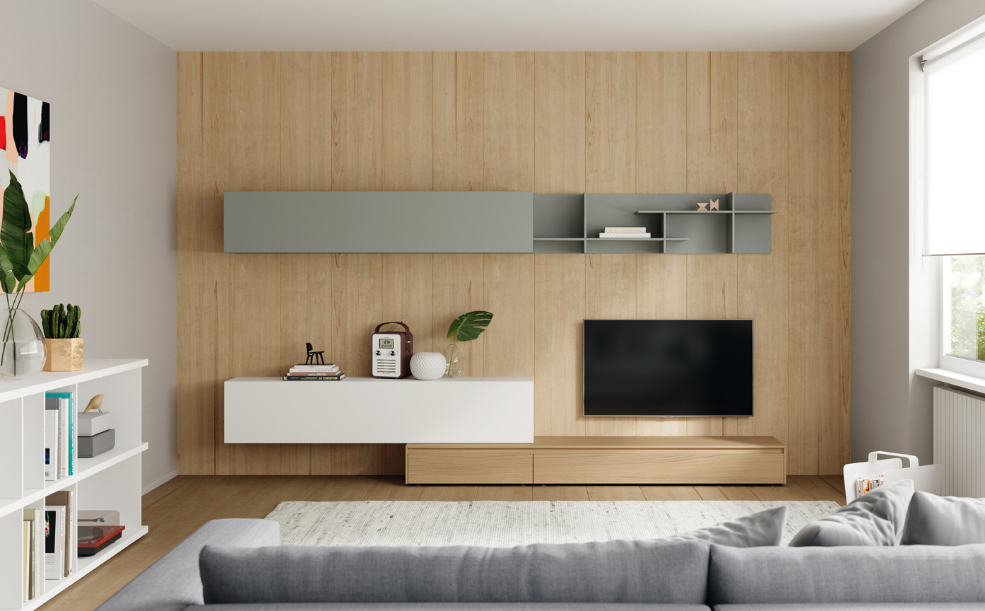 Półka nad telewizorem