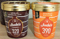 Jude's no added sugar ice creams peanut butter and chocolate vegan