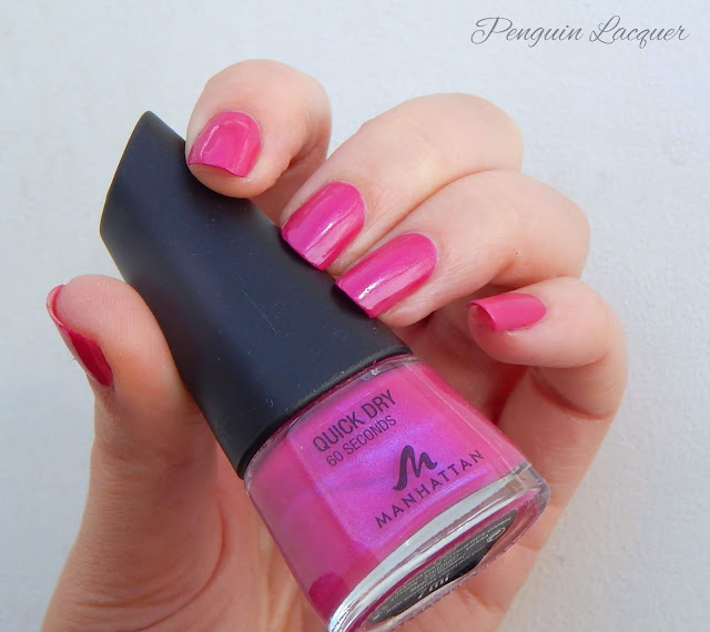 manhattan quick dry 60 seconds pink