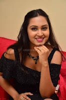 South Actress Amulya in short black dress at Kalamandir Foundation 7th anniversary Celebrations ~  Actress Galleries 065.JPG